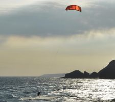 Kite Surfer by Dogbytes