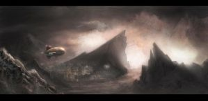 finalized matte painting by ieetpaint22