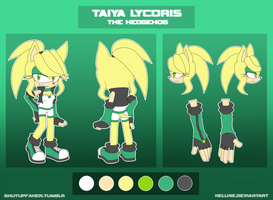 // Taiya the Hedgehog // 2014 // by Kellkie