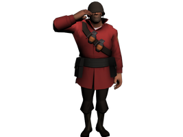 Salute - 3DS Max Posing Test by ShakerSilver