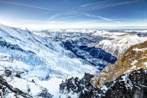Mont Blanc valley by Reiep