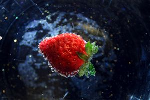 strawberry_in motion by KaterinaRaed