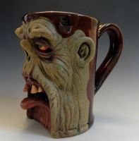 Emerging Zombie Mug 2- SOLD by thebigduluth