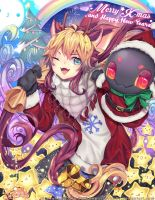 Merry X-mas and Happy Mew Year Dear! by DAYLIO