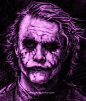 The thinking Joker -tribute- by Spike-Ambrose
