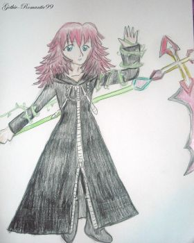 Marluxia by Gothic-Romantic99