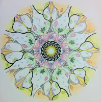 Mandala 3 coloured by ArtistEVDB