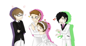 The Royal Wedding - Necro , Dlive , Yami , Edge by M-G-K