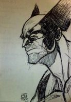 Quick Wolverine Sketch by Kenpudiosaki