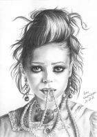 Mary-Kate Olsen 6 by crayon2papier