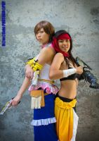 Final Fantasy X-2: Stand Together by Ninja-Dee