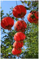 Red Lanterns by K-Tak
