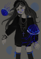 Blue jellies by mousebird