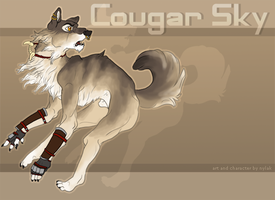 Cougar Sky : Feral Anthro by Nylak