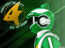 Engine Sentai Go-On Green by GoNorth
