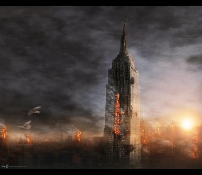New York Is Burning by Secr3tDesign
