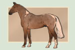 SOLD - Lineage Warmblood Stallion by Weidenhof