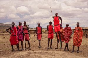 High tribe - Masaai Mara by siddhartha19