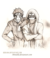 Commission - Kiba Shino by redsama