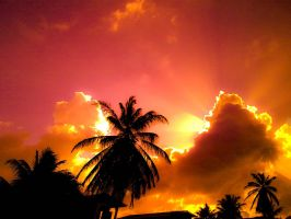 Sunset In Guyana by Steff1