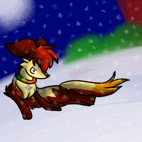 Lost in the snow.. by luxchii
