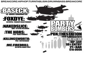party bombers preflyer1 by reactionarypdx