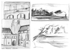 Sketches by Ophelie-c