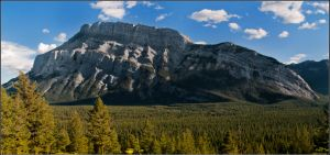 Mount Rundle by Punt1971