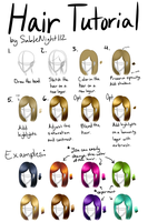 Hair Tutorial for Beginners by SableNight112