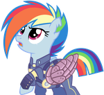 Fallout Rainbow Dash by Dianlie