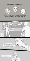 LOST: Making Friends by Buuya