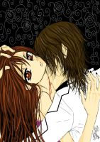 Vampire Knight-Yuki and Kaname by X3KiKiX3