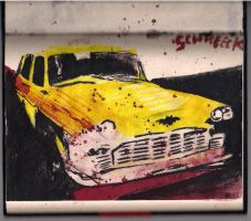 Steel Body Yellow Cab by Novadrome
