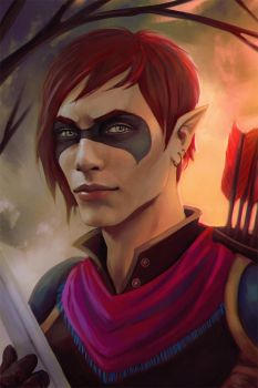 Baldur's gate: Coran by Smilika