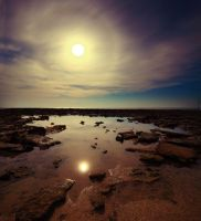 Moonscape II by BlasphemedSoldier