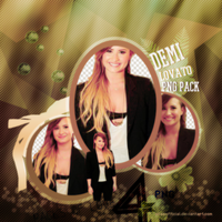 Png Pack (5) Demi Lovato by SilaEOfficial