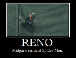 Reno - Spiderman by Lycan-wolf96