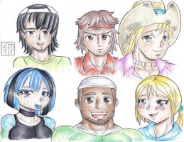 Total Drama island character 4 by dxoz