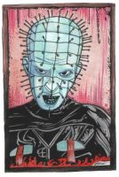 PINHEAD_PAINTING by clive-barker-club