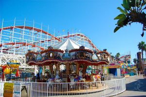 Mission Beach Merry Go Round by ShannonCPhotography