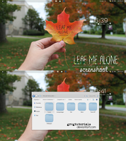 Screenshot Leaf Me Alone by GregTutorials