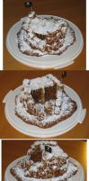 Gingerbread Turret by astralnemesis
