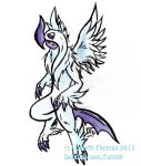 Mega Absol doodle by yamicool