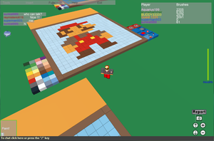 8-bit Mario in Roblox by NitroactiveStudios