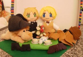 APH: Victorian Picnic: USUK by melrosestormhaven