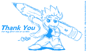thanks for 100+ hits by CrAze-Kun