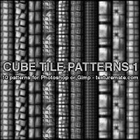CubeTilePatterns01 by AscendedArts