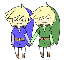 Request: Blue and Green by Ask-VioLink