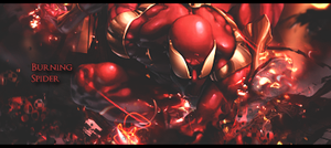 Burning Spider Tag by GreenMotion