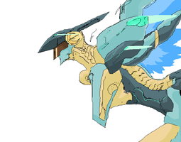 Jehuty in MS Paint by Cave-Shinobi
